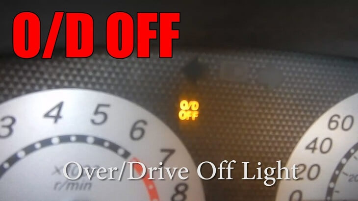 Overdrive Off Light
